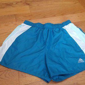 ADIDAS teal shorts sz S EUC